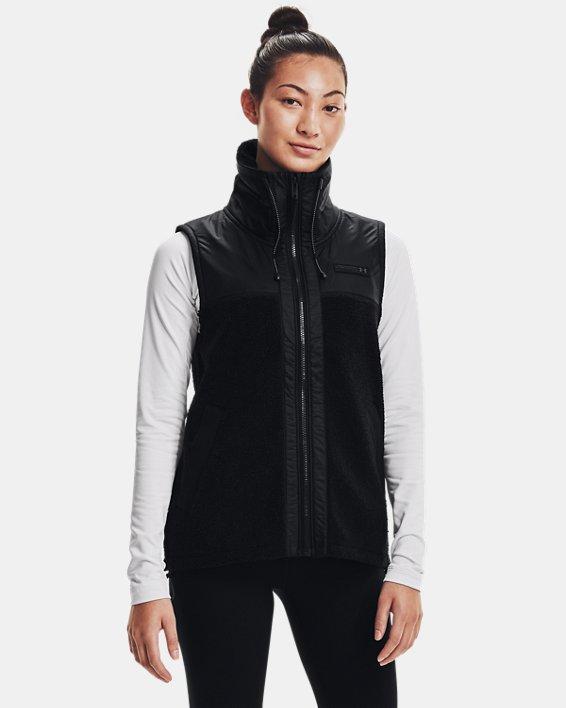 Women's UA Mission Vest, Black, pdpMainDesktop image number 0