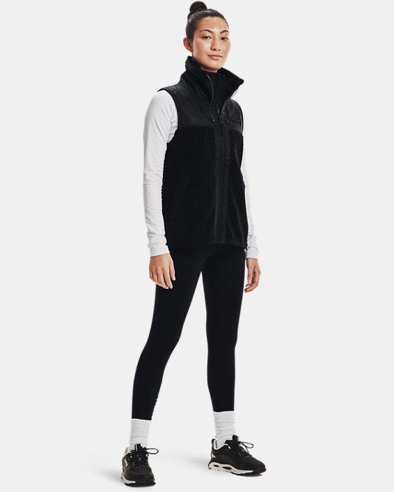 Women's UA Mission Vest, Black, pdpMainDesktop image number 2
