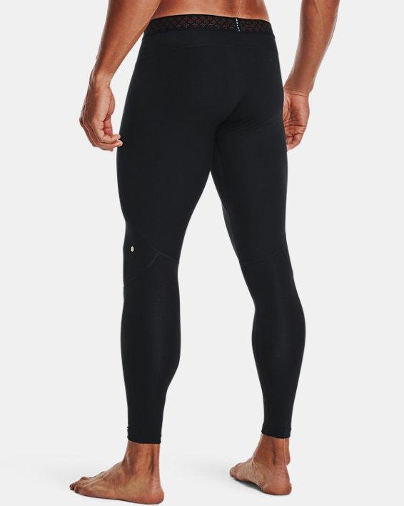 Men's UA RUSH™ ColdGear® Leggings, Black, pdpMainDesktop image number 1