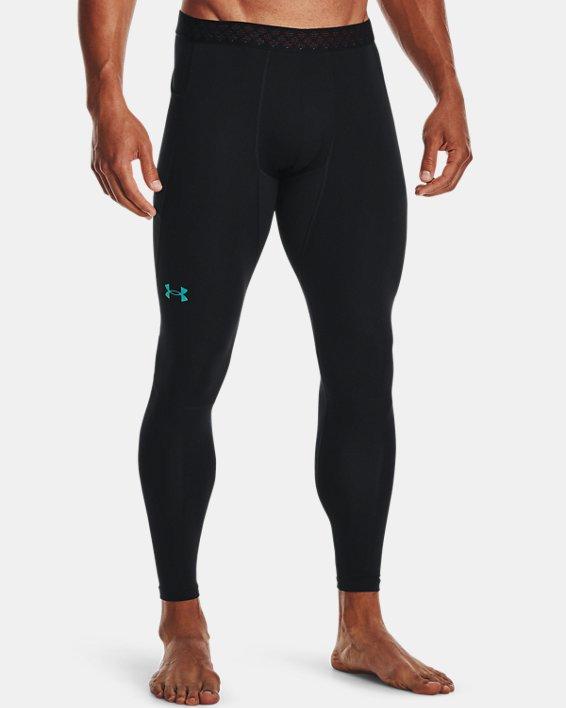 Men's UA RUSH™ ColdGear® Leggings, Black, pdpMainDesktop image number 0