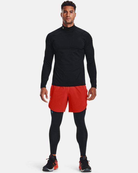 Men's UA RUSH™ ColdGear® Leggings, Black, pdpMainDesktop image number 2