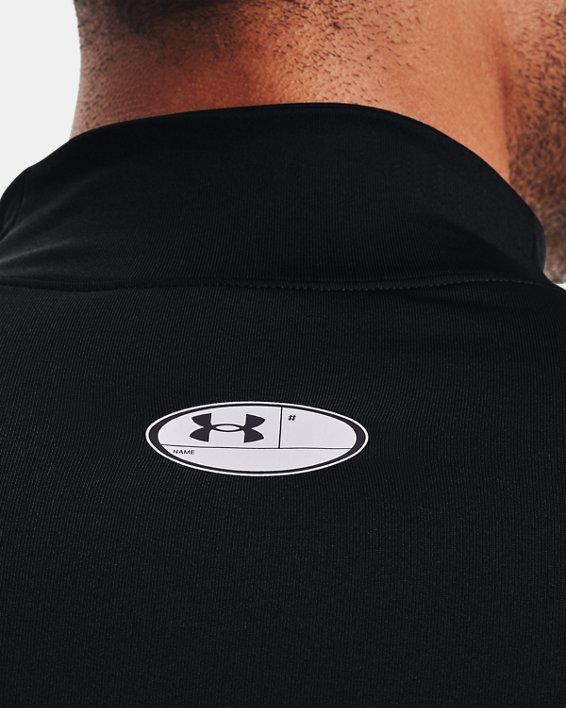 Men's ColdGear® Fitted Mock, Black, pdpMainDesktop image number 4