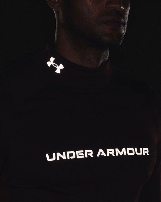 Men's ColdGear® Armour Fitted Twist Mock, Red, pdpMainDesktop image number 4