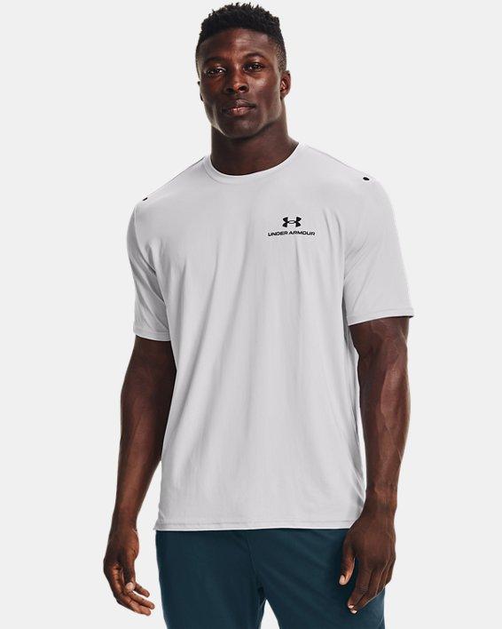 Men's UA RUSH™ Energy Short Sleeve, Gray, pdpMainDesktop image number 0