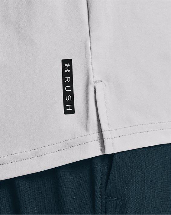 Men's UA RUSH™ Energy Short Sleeve, Gray, pdpMainDesktop image number 3