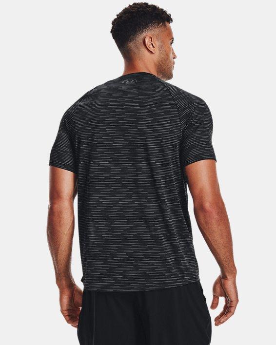 Men's UA Tech™ 2.0 Dash Short Sleeve, Black, pdpMainDesktop image number 1