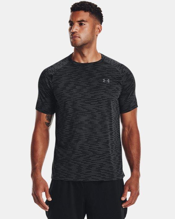 Men's UA Tech™ 2.0 Dash Short Sleeve, Black, pdpMainDesktop image number 0