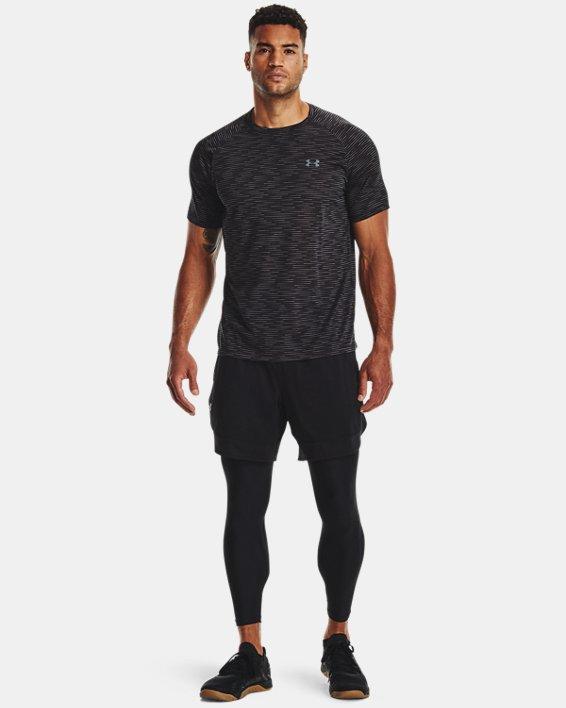 Men's UA Tech™ 2.0 Dash Short Sleeve, Black, pdpMainDesktop image number 2