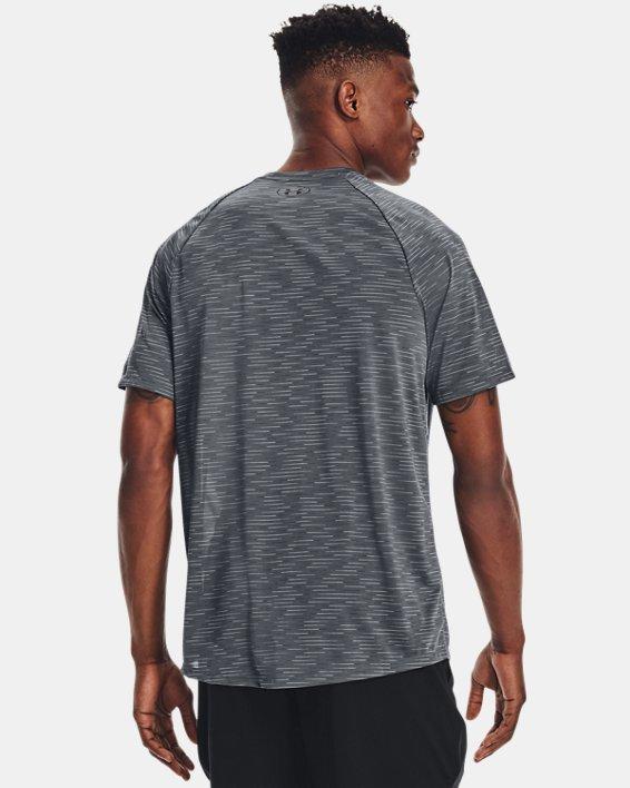 Men's UA Tech™ 2.0 Dash Short Sleeve, Gray, pdpMainDesktop image number 1