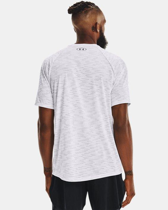 Men's UA Tech™ 2.0 Dash Short Sleeve, White, pdpMainDesktop image number 1