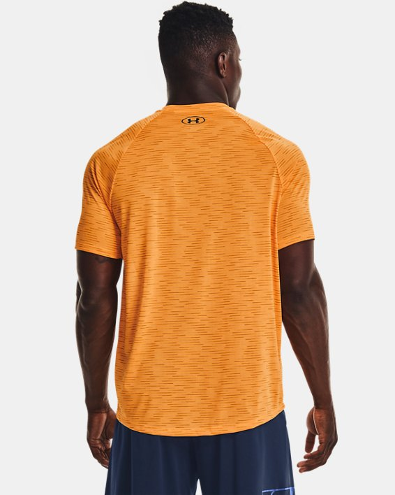 Herenshirt UA Tech™ 2.0 5C met korte mouwen, Orange, pdpMainDesktop image number 1