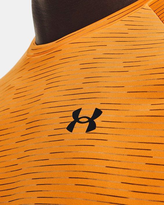 Herenshirt UA Tech™ 2.0 5C met korte mouwen, Orange, pdpMainDesktop image number 3