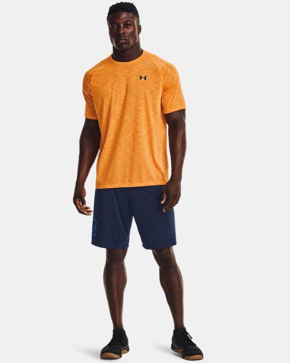 Herenshirt UA Tech™ 2.0 5C met korte mouwen, Orange, pdpMainDesktop image number 2