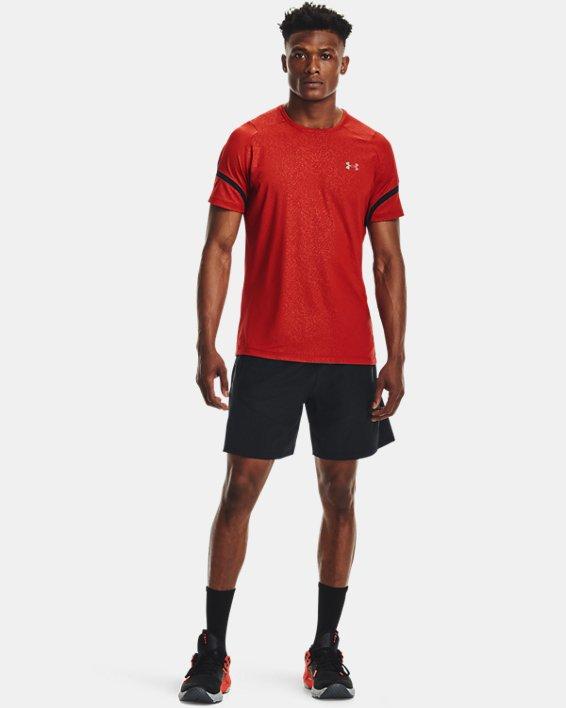 Men's UA Knit Woven Hybrid Shorts, Black, pdpMainDesktop image number 0