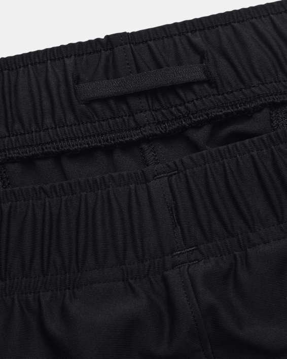 Men's UA Knit Woven Hybrid Shorts, Black, pdpMainDesktop image number 6