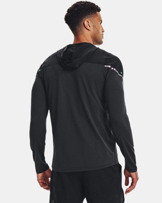Men's UA RUSH™ HeatGear® Full-Zip Hoodie, Black, pdpMainDesktop image number 2