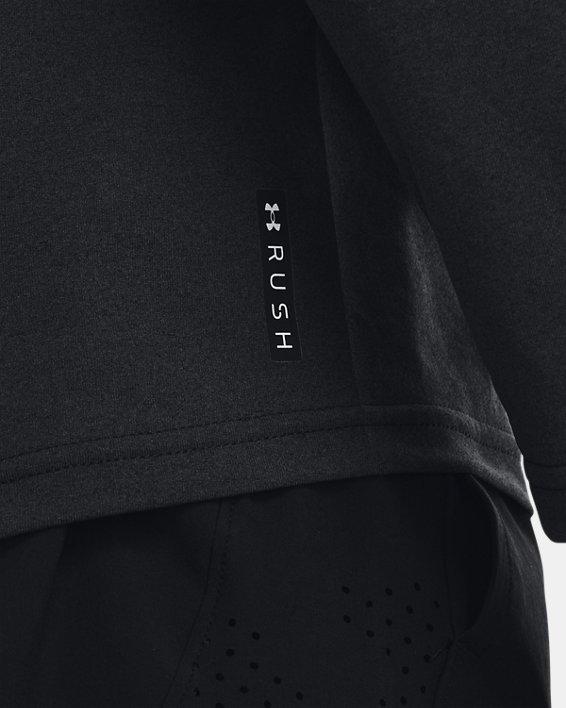 Men's UA RUSH™ HeatGear® Full-Zip Hoodie, Black, pdpMainDesktop image number 3