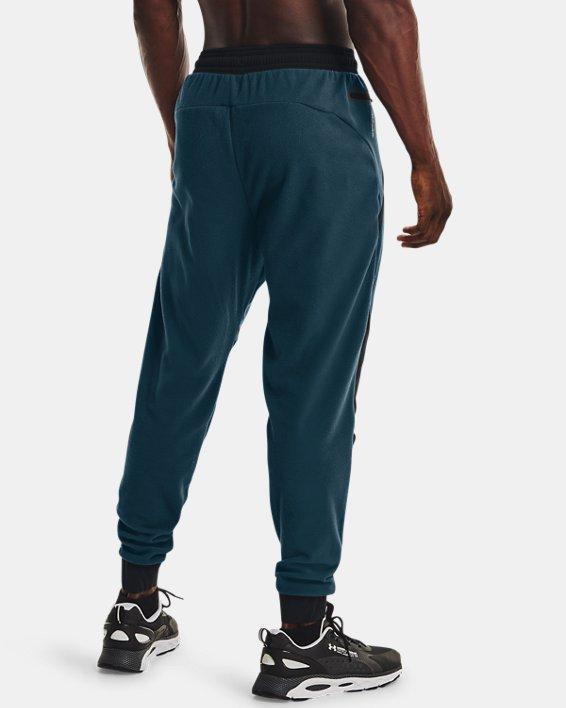 Men's UA RUSH™ Fleece Pants, Blue, pdpMainDesktop image number 2