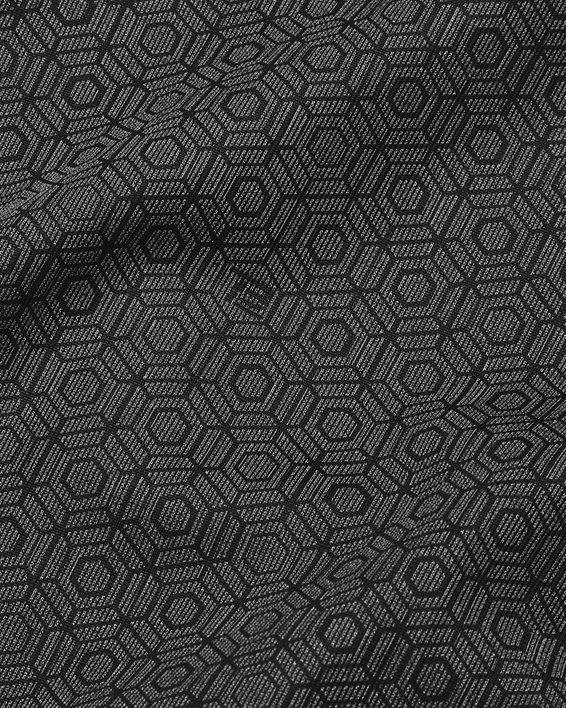 Men's UA RUSH™ Woven Legacy Windbreaker, Black, pdpMainDesktop image number 7