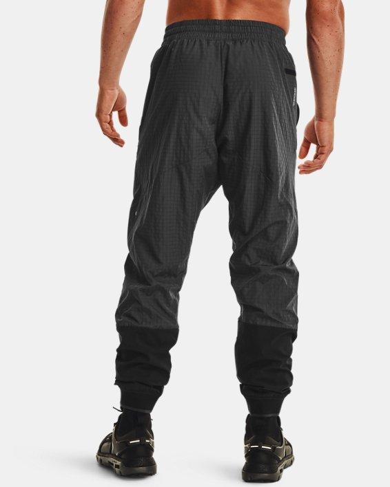 Men's UA RUSH™ Legacy Woven Pants, Black, pdpMainDesktop image number 2