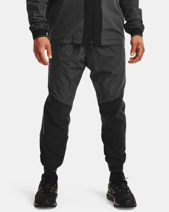 Men's UA RUSH™ Legacy Woven Pants, Black, pdpMainDesktop image number 1