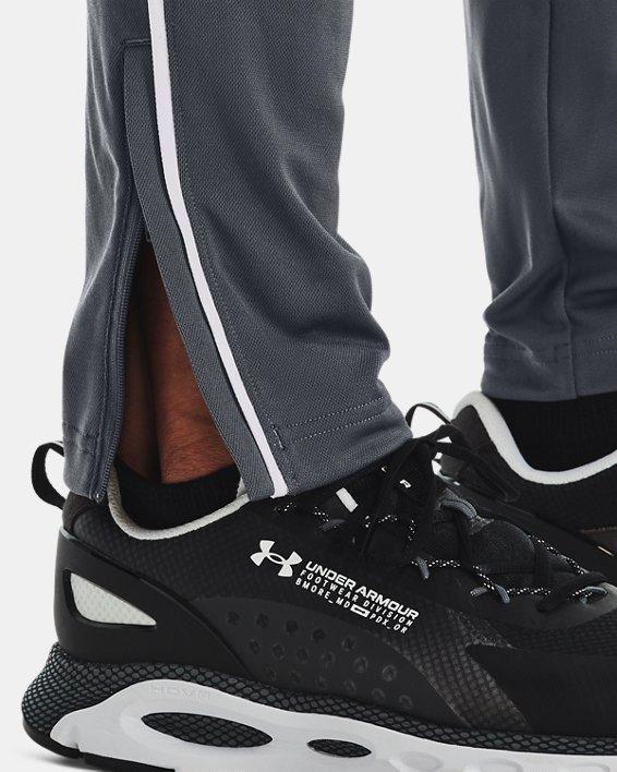 Men's UA Pique Track Pants, Gray, pdpMainDesktop image number 5