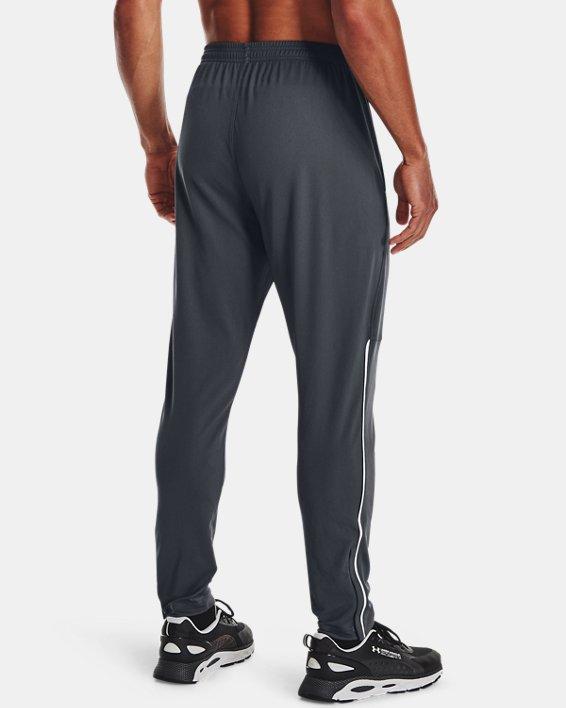 Men's UA Pique Track Pants, Gray, pdpMainDesktop image number 2