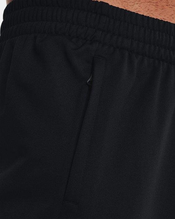 Men's UA Tricot Track Pants, Black, pdpMainDesktop image number 3