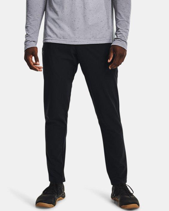 Men's UA Woven Pants, Black, pdpMainDesktop image number 1