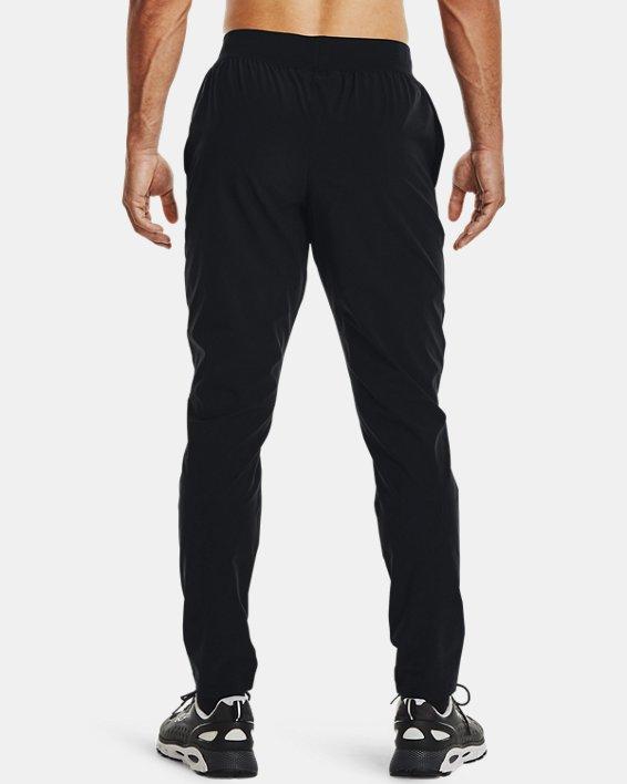Men's UA Stretch Woven Pants, Black, pdpMainDesktop image number 2