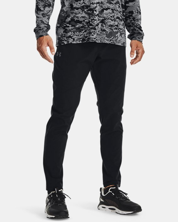 Men's UA Stretch Woven Pants, Black, pdpMainDesktop image number 1