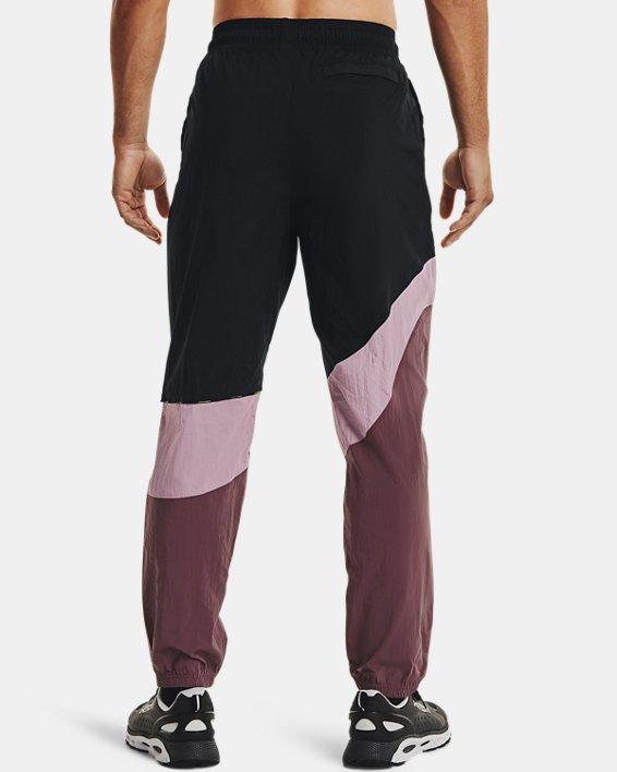 Men's UA 21230 Wind Pants, Black, pdpMainDesktop image number 1