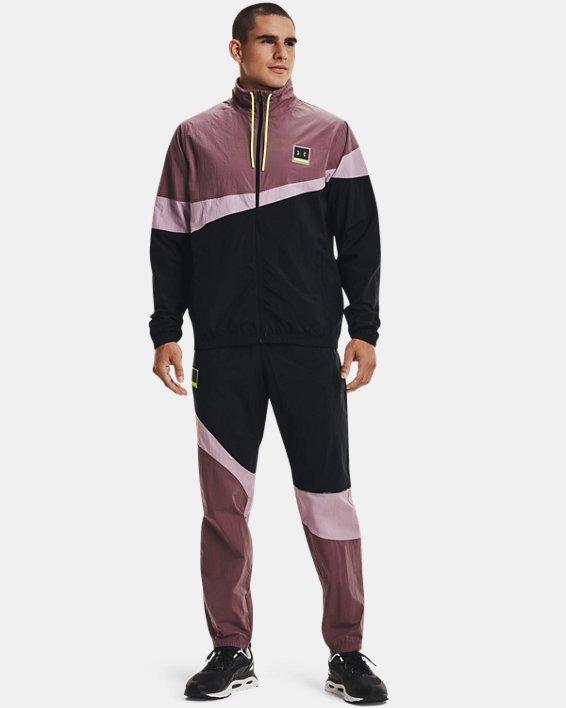 Men's UA 21230 Wind Pants, Black, pdpMainDesktop image number 2