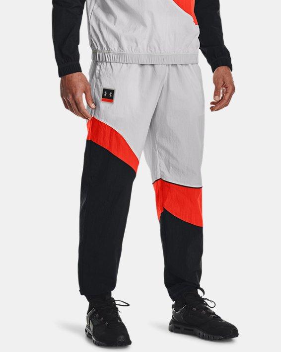 Men's UA 21230 Wind Pants, Gray, pdpMainDesktop image number 0