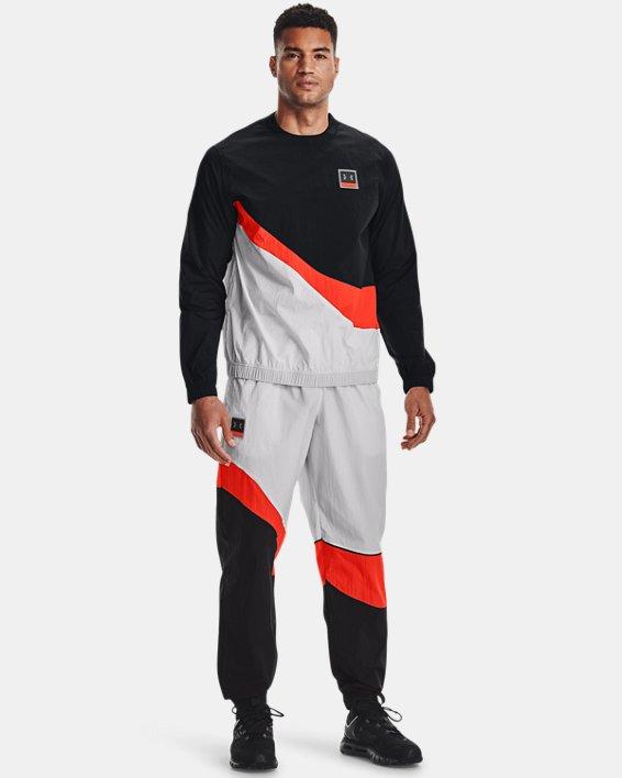 Men's UA 21230 Wind Pants, Gray, pdpMainDesktop image number 2
