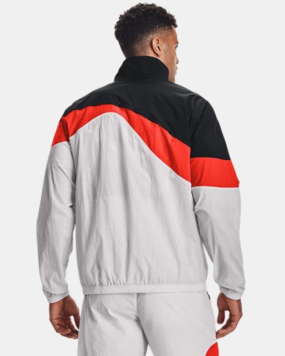 Men's UA 21230 Full-Zip Jacket, Black, pdpMainDesktop image number 2