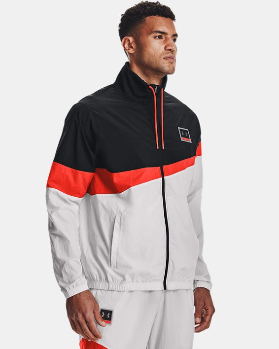 Men's UA 21230 Full-Zip Jacket, Black, pdpMainDesktop image number 1