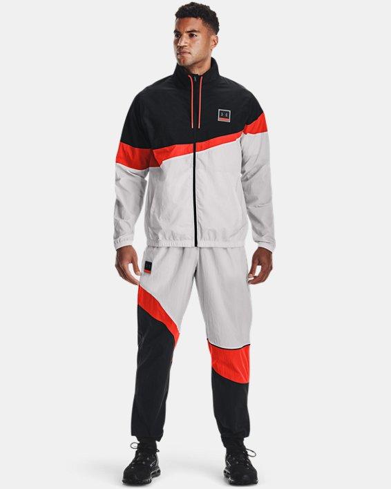 Men's UA 21230 Full-Zip Jacket, Black, pdpMainDesktop image number 0