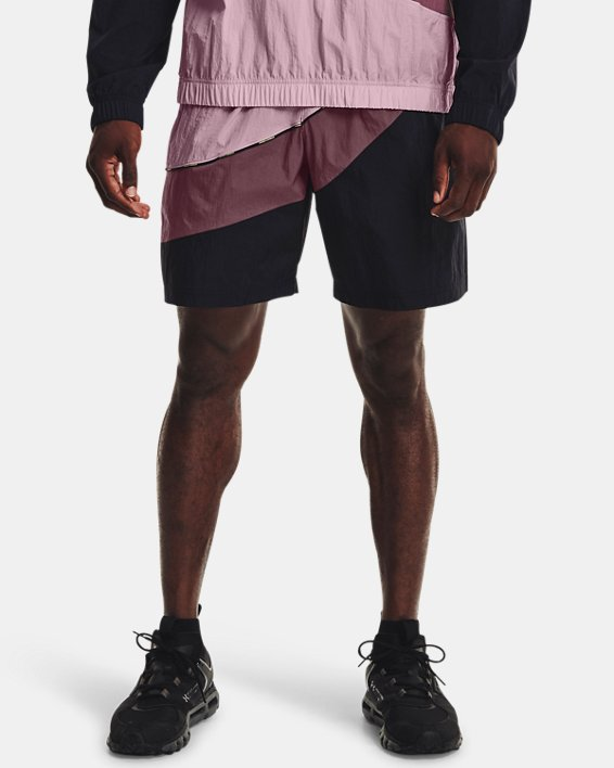 Men's UA 21230 Woven Shorts, Pink, pdpMainDesktop image number 1