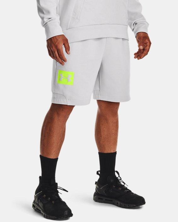 Men's UA Summit Knit Shorts, Gray, pdpMainDesktop image number 1