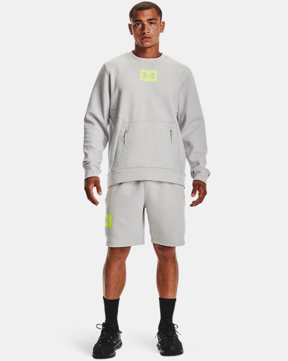 Men's UA Summit Knit Shorts, Gray, pdpMainDesktop image number 0