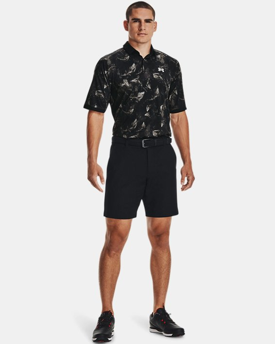 Men's UA Iso-Chill Feather Polo, Black, pdpMainDesktop image number 0