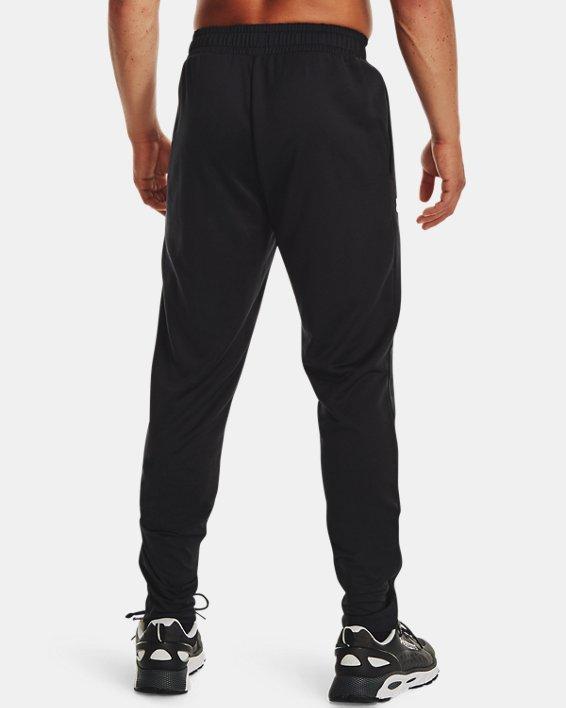 Men's UA Armour Terry Pants, Black, pdpMainDesktop image number 1