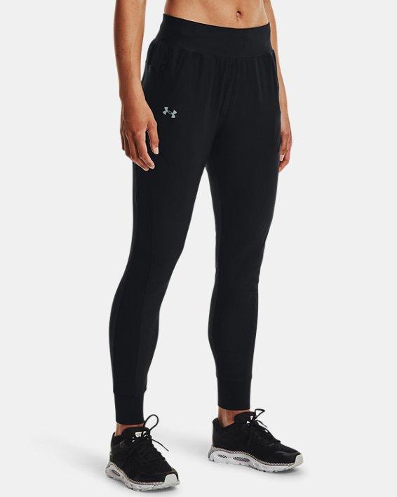 Women's UA Qualifier Run 2.0 Pants, Black, pdpMainDesktop image number 0