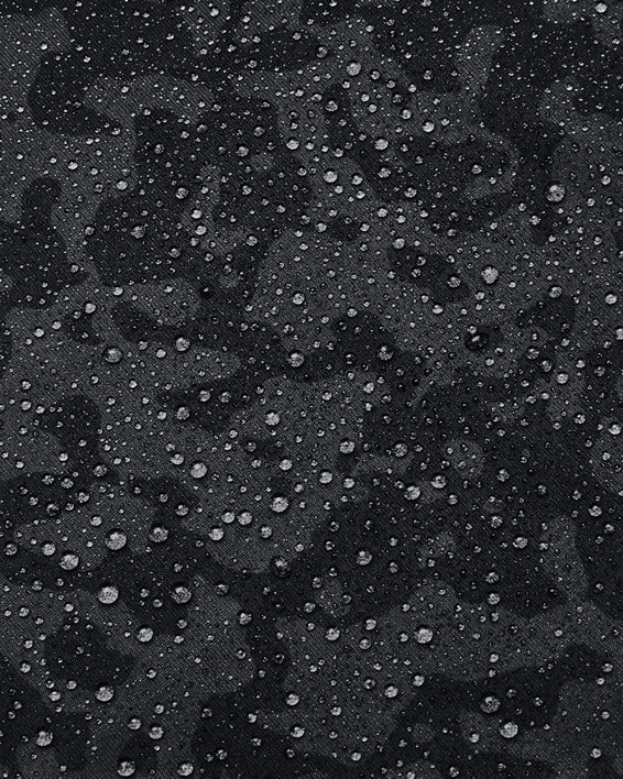 Men's ColdGear® Infrared Printed Long Sleeve Golf Mock, Gray, pdpMainDesktop image number 5