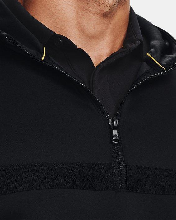 Men's Curry Hooded Track Jacket, Black, pdpMainDesktop image number 3