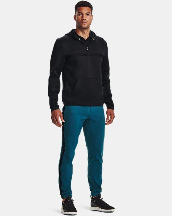 Men's Curry Hooded Track Jacket, Black, pdpMainDesktop image number 2