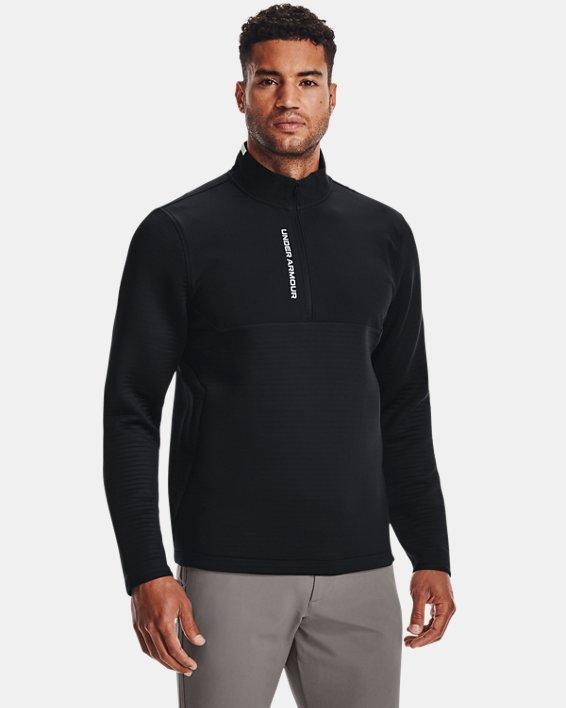 Men's UA Storm Daytona ½ Zip, Black, pdpMainDesktop image number 1