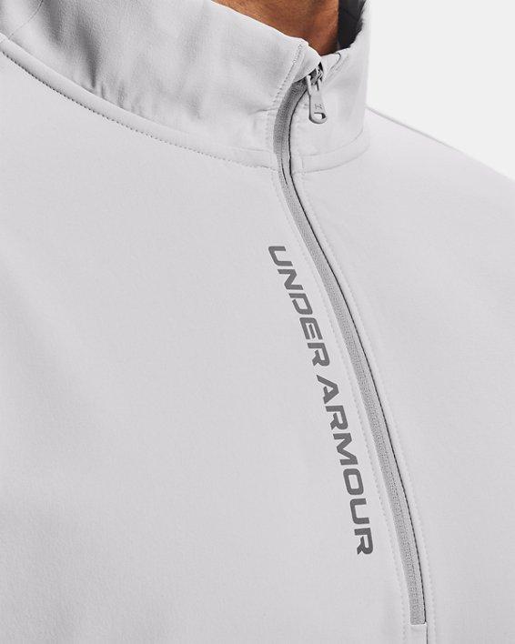 Men's UA Storm Daytona ½ Zip, White, pdpMainDesktop image number 5