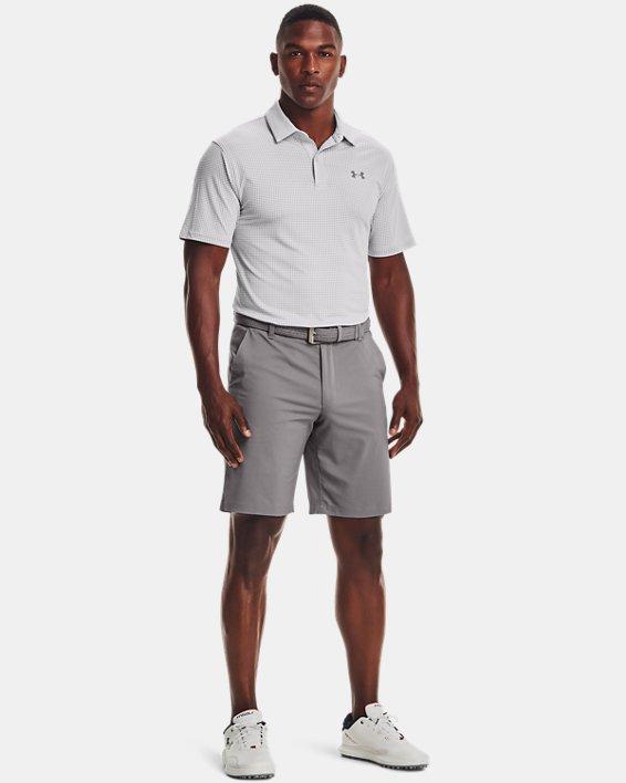 Men's UA T2G Printed Polo, Gray, pdpMainDesktop image number 0